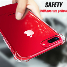 H&A Luxury Anti-knock Transparent Cases For iPhone X 6 6s 7 8 Plus 10 5 5S SE Silicone Phone Cover For iPhone 7 8 X 10 Case Capa