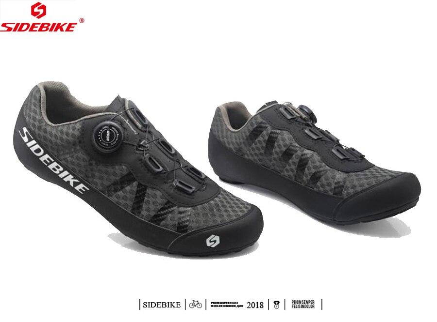 Großhandel SIDEBIKE Non Locking Radfahren Schuhe Ultraleicht Mann Frauen Atmungsaktiv Mountainbike Schuh Freizeit Billig Straße Fahrrad Flache MTB