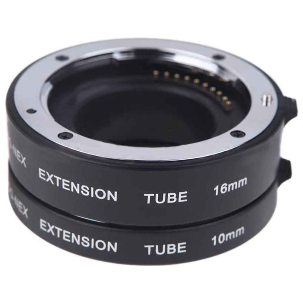 Lens Macro Extension Ring Tube Adapter for Sony E-mout NEX NEX-6 A7R A3000 8Q96