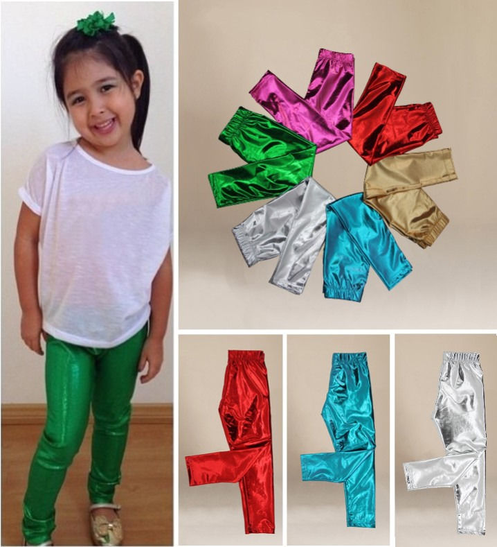 e6772bdd2d6 Detail Feedback Questions about Hot Sell Baby Kids Girl Meryl Shiny Solid  Skinny Leggings Pants Trousers 1~9Y UK on Aliexpress.com
