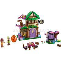 Bela 10502 348Pcs Friend Elves The Starlight Inn Kits Mini Bricks 41174 Building Blocks Model Sets