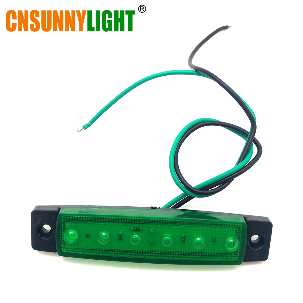 CNSUNNYLIGHT Car LED Bus Clearance Lamp Tail Reverse Light Turn Signal Truck Trailer Lorry UTE Caravan Rear Warning Lighting Bar (8)