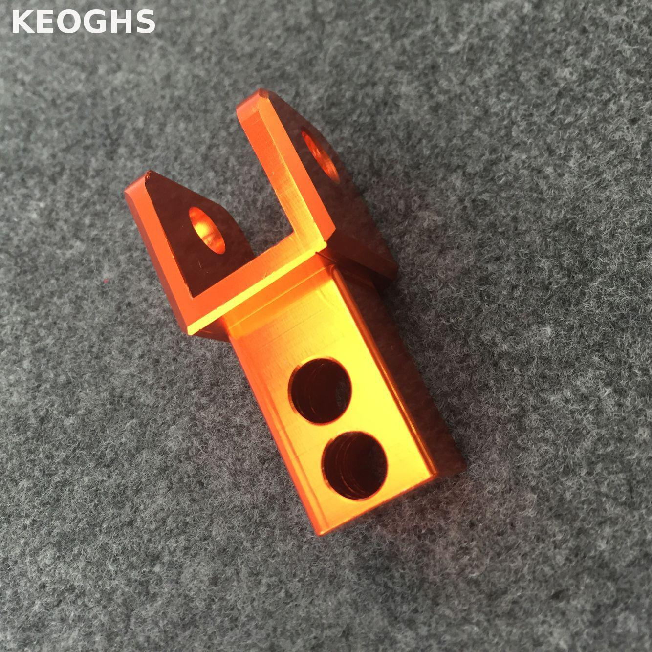 Keoghs Motorcycle Rear Shock Absorbers Heightening Pads All Cnc Aluminum For Honda Yamaha Kawasaki Suzuki keoghs shock absorbers refit parts heightening device for motorcycle scooter damper shock absorber height increase