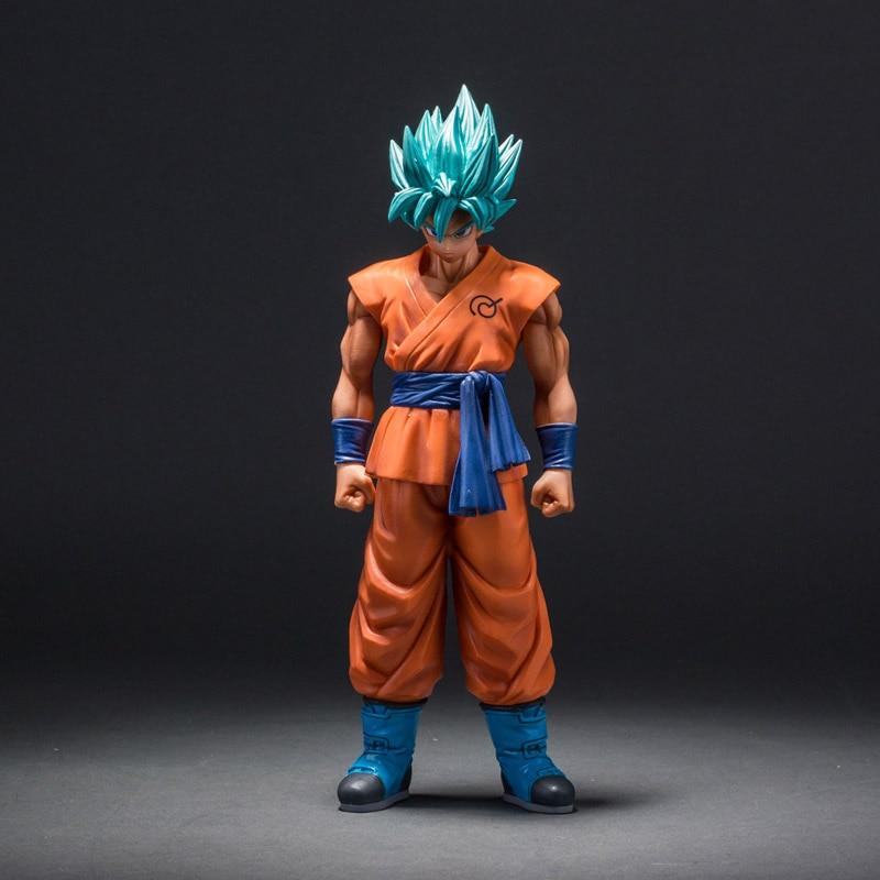 Dragon Ball Super Saiyan God Son Goku Action Figure Blue