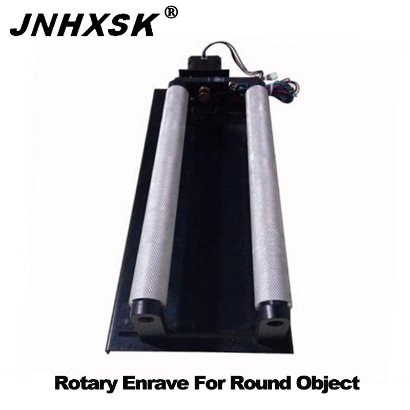 JNHXSK Simple Rotary Axis For Laser Engraving And Cutting Machine Rotating Device Used For Round Object Water Cup Cheaper Prices