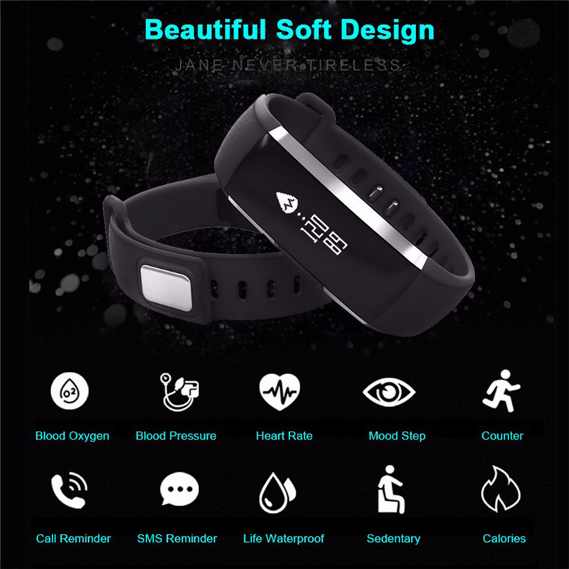 Newest Multifunctional M2 Blood Pressure Wrist Watch Pulse Meter Monitor Cardiaco Smart Band Fitness Smartband