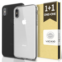For Iphone X Ultra Thin Case TPU Transparent Clean Anti Shock Back Cover For Iphone X