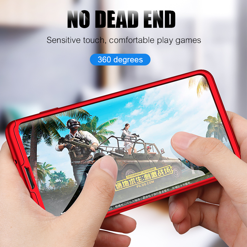 ❤️ ZNP 360 מלא כיסוי טלפון מקרה לסמסונג גלקסי S8 S9 S10