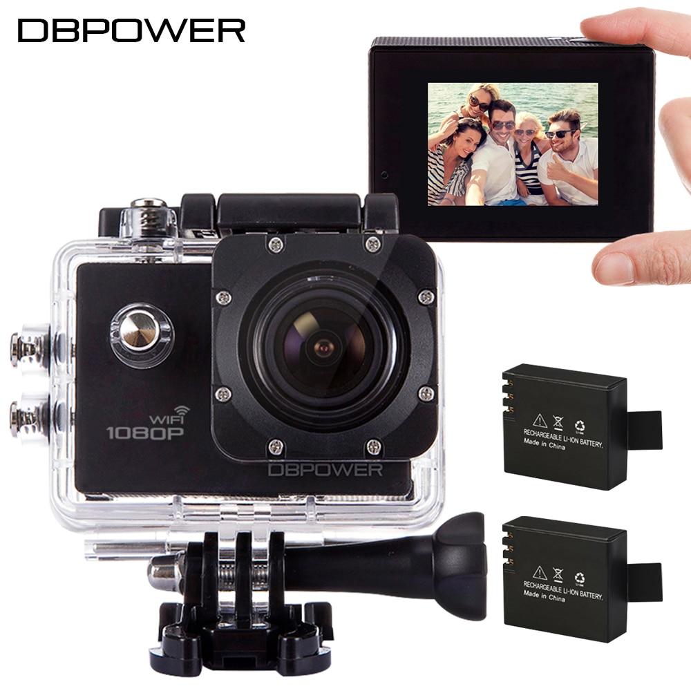 DBPOWER Original SJ4000 WIFI Waterproof Action font b Camera b font 1080P Video font b Camera