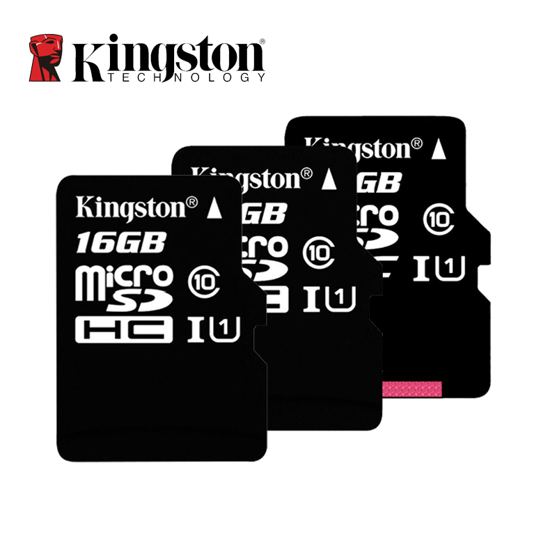 Kingston Micro SD Card Class 10 16GB 32GB 64GB 128GB Memory Card C10 Mini SD Card SDHC SDXC TF Card C4 8GB for Smartphone(China)