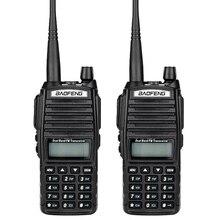2 шт. Baofeng UV-82 рации портативный CB радио и UHF 136-174 МГц и 400-520 МГц радио станции рация радиостанция