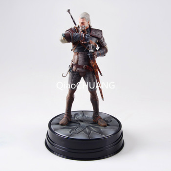 The Witcher 3: Wild Hunt Geralt Of Rivia Movie Figures Action & Toy Figures PVC Model Collection For Brinquedos Retial Box