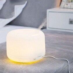 Ultradźwiękowy Aroma nawilżacz powietrza cztery rozrządu użytku domowego aromaterapia maszyna okrągły nawilżacz powietrza Food Grade Pp Abs lampa zapachowa|Nawilżacze powietrza|   -