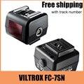 Viltrox fc-7sn zapata de flash óptico adaptador para canon nikon flash de activación slave para sony dslr cámara envío gratis