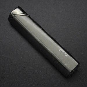 Image 4 - Nuova Striscia Torcia Accendino Antivento Diamante Jet Turbo Tubo di Metallo Leggero Allaperto Cigar 1300 C Butano In Acciaio Inox Finestra di No gas