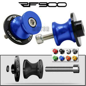 Swingarm Spools For Suzuki RF900 RF900R 1994-1997 8MM CNC Motorcycles Rear Swing Arm Cover Stand Screws Sliders RF 900 R 8 mm M8(China)