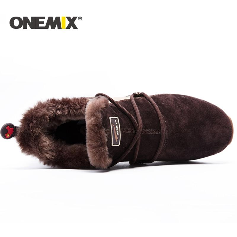 ONEMIX nye vinter løbesko behagelig mænds støvler støvler - Kondisko - Foto 6