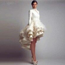 SexeMara Unique Design Long Sleeves Dress Vestidos de Festa
