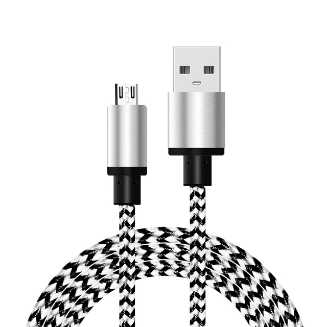 2A Micro USB Charger Cable Data Cable Mobile Phone Charging Cable for Samsung for Xiaomi Android Tablet Cable