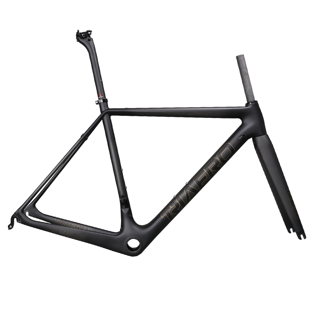 Super Light Carbon Road Bike Frame All Internal Cable Bike Frames In Carbon BB86 With 25mm Max Tire