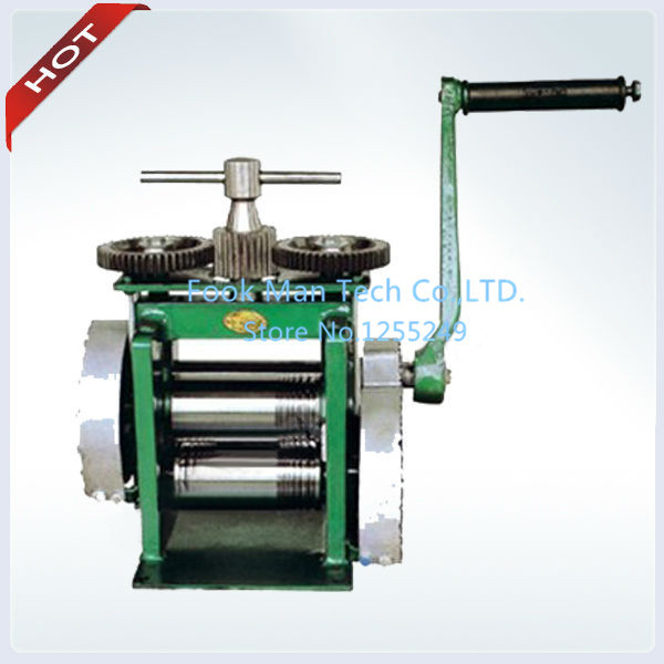 Herramientas Joyeria Products Jewelry Rolling Mill Hand Rolling Mill Jewelry Machine And Equipment Roller Width 130 Mm Roller Di