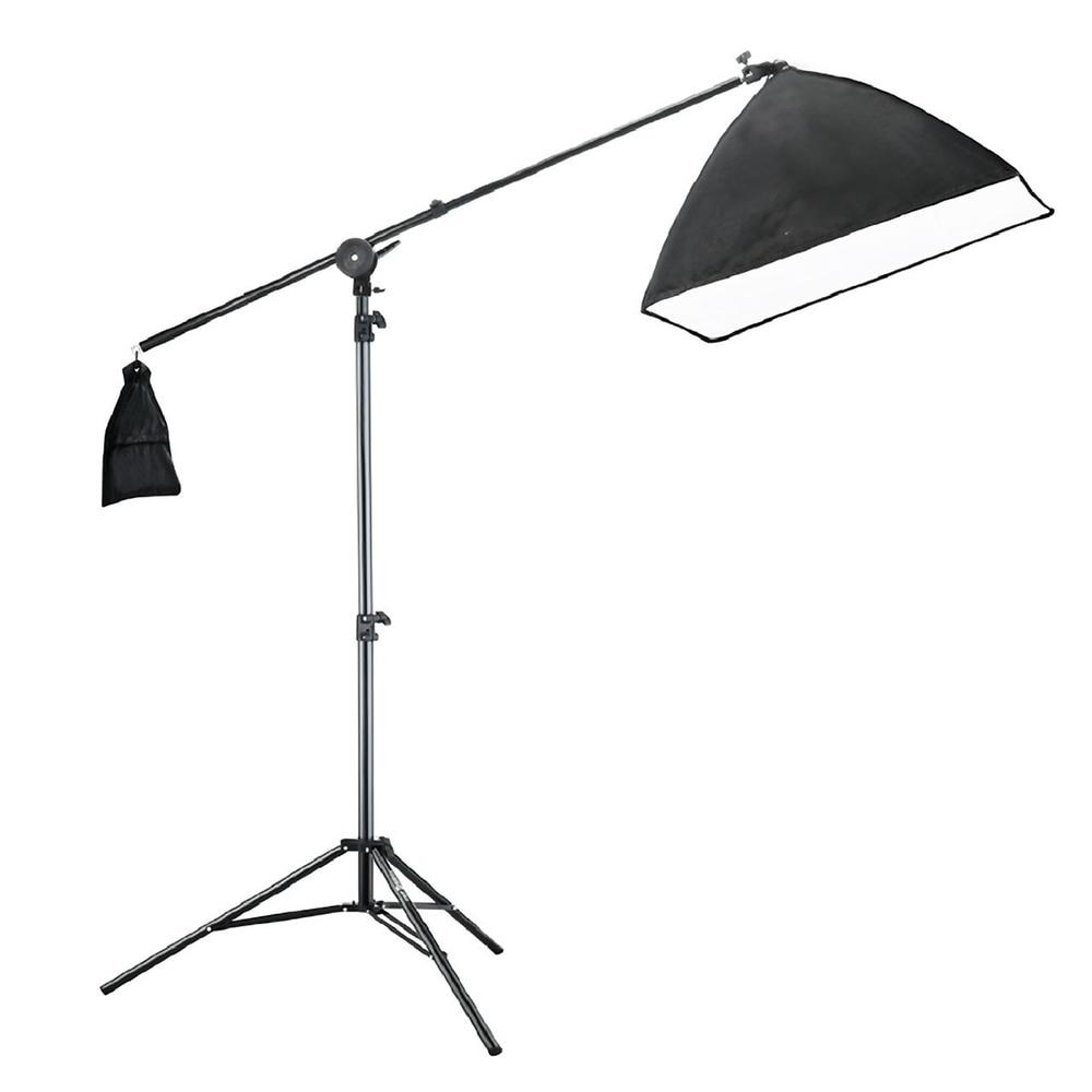 bilder für Studio Fotoausrüstung 2 Mt Lichtständer + 50*70 CM Softbox + Lichtkuppel Rahmen Set Fotostudio zubehör