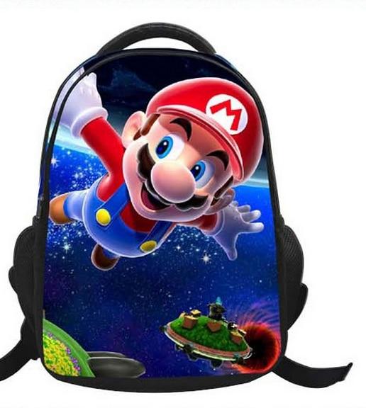 ca97601852 16 Inch Cartoon Children Kids Backpacks Cartoon Super Mario Bag School For Girls  Boys Teenagers Bags Mochilas Infantil Gift-in School Bags from Luggage ...