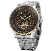 Top Brand Mens Watches Luxury JARAGAR Men Military Sport Wristwatch Automatic Mechanical Tourbillon Watch relogio masculino