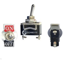 1 PC High Quality  SPST Waterproof Switch Cap On-Off Miniature Toggle Switches 12A 250V VE185 P0.4