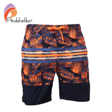 Andzhelika Trunks Men's Sports Swimsuit M-3XL Swim Briefs Bikini Sexy Swim Underwear Men Trunks Surf Board Shorts Suits AK3705(China)