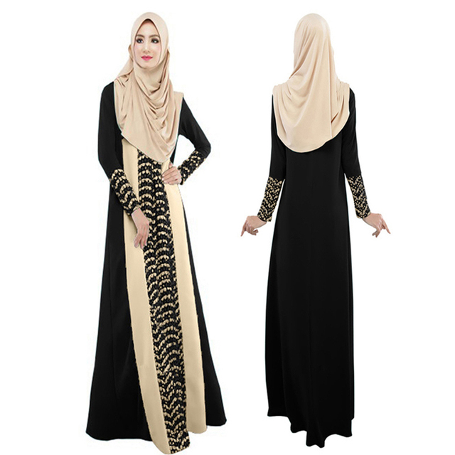 Abaya clothes turkey muslim women dress pictures islamic jilbabs and abayas dresses turkish robe musulmane Kaftan Plus size XXL