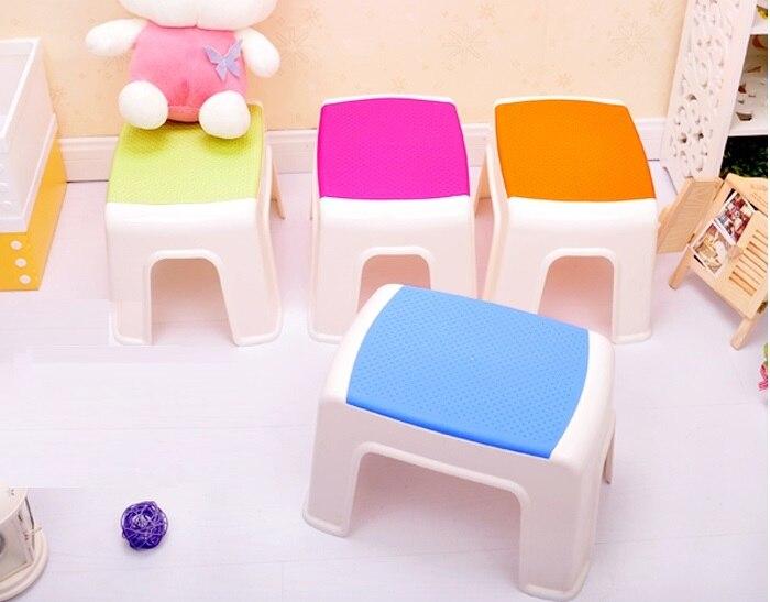 Wc sgabello di plastica sgabello da giardino balcone gioco colore
