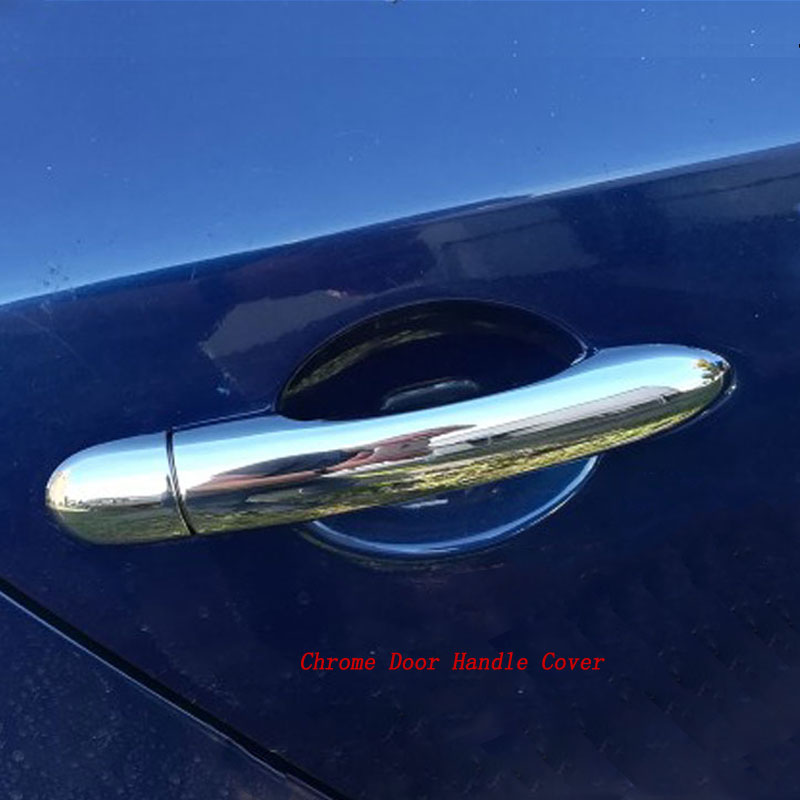 Chrome Door Handle Cover and Cup Bowl Combo Trim For Mazda CX5 CX-5 2016-2018 19