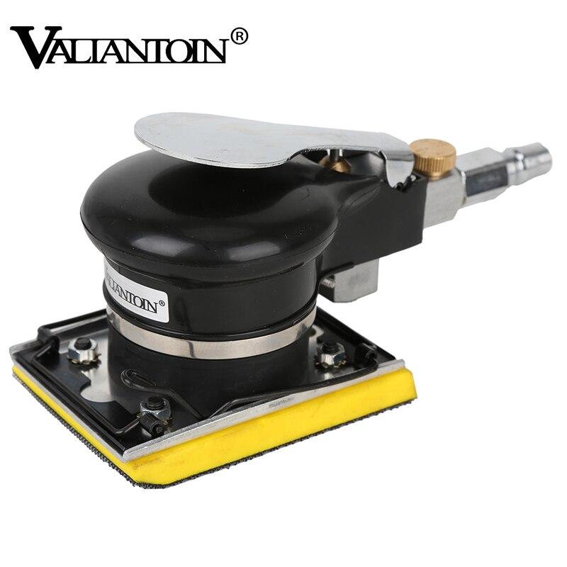 Sanding Machine Pneumatic Air Sander Use Square Pad Grinder 5 MM Eccentricity Wood Polishing Grinding Machine Air Tools|Pneumatic Tools| |  - title=