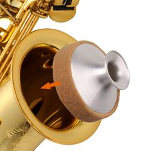 Aluminum Alloy Saxophone Mute Sax Sound Metal Dampener Silencer Saxophone Accessory