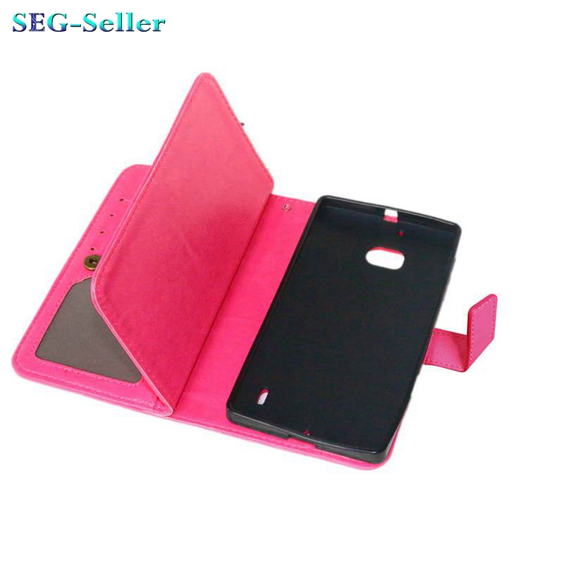 Hot Selling Wallet Style PU Leather Case for Nokia Lumia 930 with Stand Function and 9