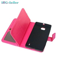 Hot Selling Wallet Style PU Leather Case for Nokia Lumia 930 with Stand Function and 9 Card Holder SJ6010