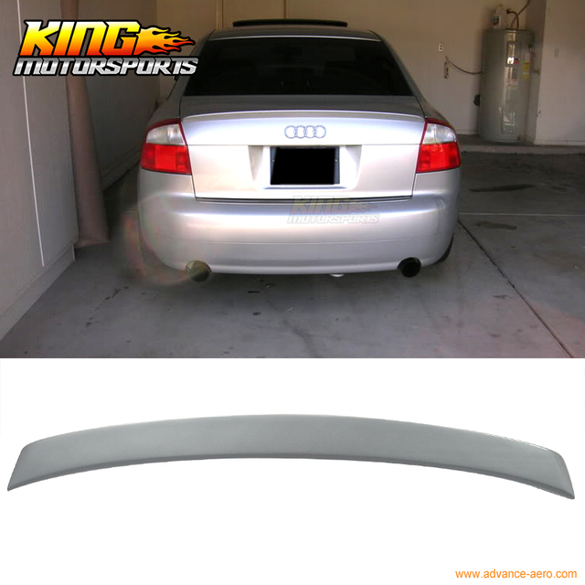 For 2002 2005 Audi A4 B6 Sedan Abt Style Ly7g Painted Trunk Spoiler