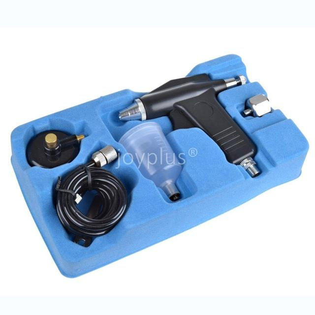 20cc 3/4oz 0.3mm Airbrush Spray Gun Gravity Feed Nail Art Paint Kit ...