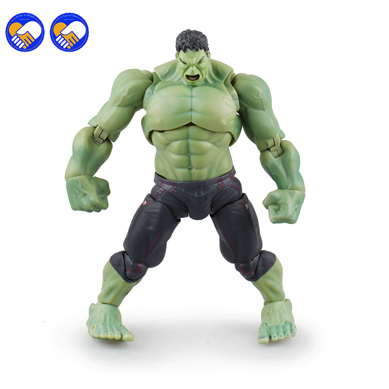 A toy A dream Avengers SHF S.H.Figuarts Hulk PVC Action Figure Collectible Model Toy 19cm Q039 shfiguarts batman injustice ver pvc action figure collectible model toy 16cm kt1840