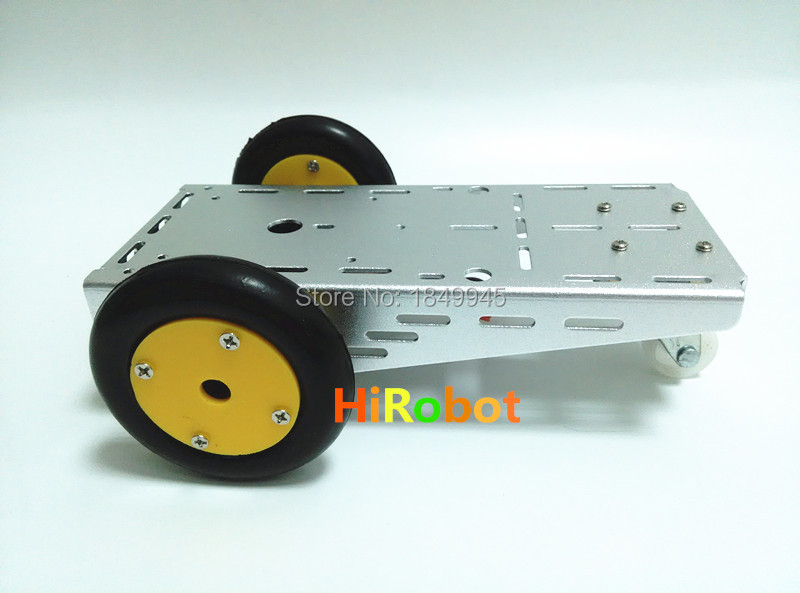 Servo motor drive small chassis for the tracing obstacle for Small servo motors and drives