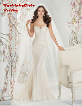 Custom made Sexy Slim Vestido De Noiva Vintage Lace Wedding Dress 2017 Sheath Ivory Wedding Dress Robe De Mariage 2017 Casamento