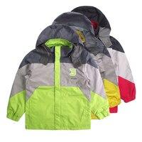 kids Waterproof Windproof Warm Shell Fleece Coat Ski Snowboard Outdoor Jacket