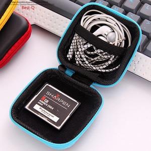 Image 3 - Free shipping mobile phone data line charger, finger tip gyro packing box, earphone storage bag, EVA earphone bag