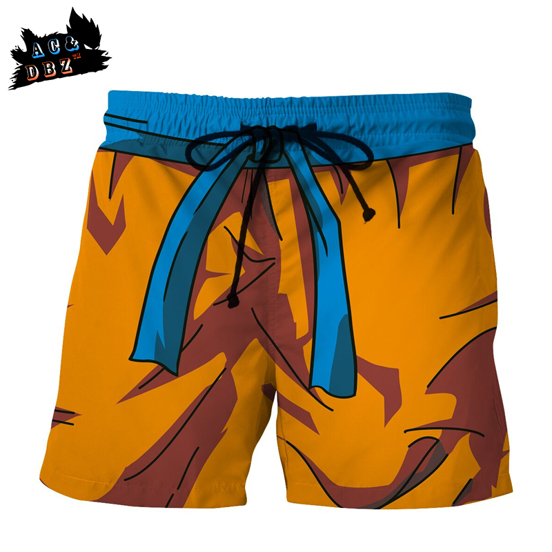 Alert Ac&dbz2018 New Mens Beach Pants Sun Wukong Dragon Ball Super 3d Printing Shorts Men And Women Fashion Casual 5 Points Shorts Latest Technology Men's Clothing