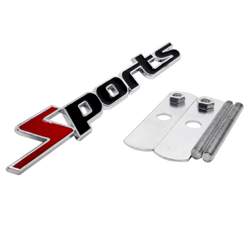 Car Grille Emblem Sports Badge For Suzuki Ford Jeep Dodge Chevrolet Land Rover Renault SEAT Fiat Volvo Tesla VW Auto Accessories image