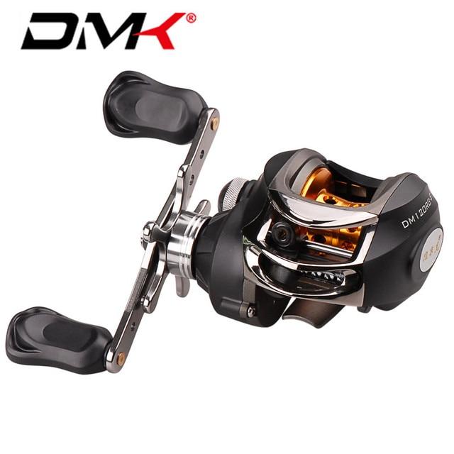 DMK Baitcasting Fishing Reel 9+1BB 6.3:1 Right/Left Hand 210g Round Bait Cast Reels Molinete Peche Carretilha Carretes Pesca