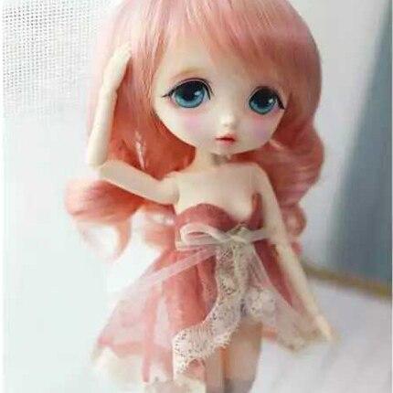 Kream Cirgus mary 1/6 BJD Pop BJD/SD Mode MOOIE model Hars Gezamenlijke Pop Voor Baby Meisje Verjaardagscadeau willekeurige ogen-in Poppen van Speelgoed & Hobbies op  Groep 1