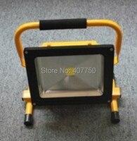 베스트 셀러 충전식 휴대용 led 홍수 빛 배터리 전원 led 스포트 라이트 30 w 야외 구조  하이킹 조명에 사용