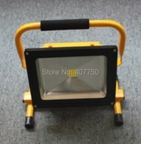 Best Er Rechargeable Portable Led Flood Light Battery Ed Spotlight 30w Used For Outdoor Rescue